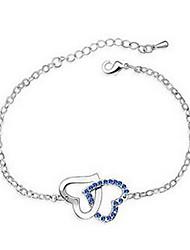 Liga delicado com pulseiras de strass Mulheres Checa (mais cores)