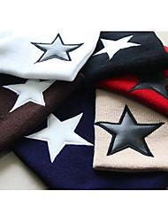 Star Print Bonnet de laine