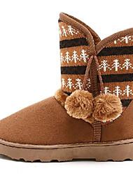 Frauen Gestrickte Winter Boots