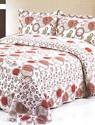 3 peças 100% algodão Monika Quilt impresso