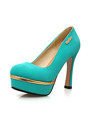 Suede Chunky Heel Pumps & Platform Heels Party Shoes(More Colors)