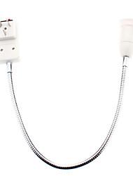 Питания к 50cm E27 Светодиодная лампа Гибкая оправа адаптер Расширение с выключателем (AC110/220V)