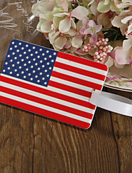Luggage Tag Favors - American flag