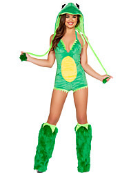 Costume Halloween Vivid Sapo Mulher Verde