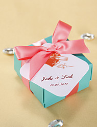 Personalized Favor Tags - Tying Heart (set of 36)