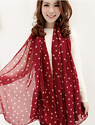 Горошек Мода Длинный шарф