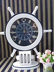 """17 """"Tipo moderno Mediterrâneo Oriental Estilo Tabletop Relógio"""