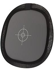 Dobrando 60 centímetros luz suave Balance Board Focus - Cinza + preto + branco