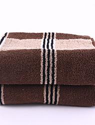 ZHONGXIN Controllare Piccolo Telo da bagno (Brown)