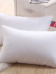 100% Cotton High Elasticity White Bed Pillow