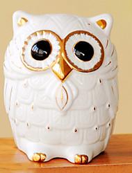 Creative Owl Design Cute Coin Box