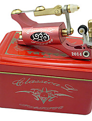 2013 più nuovi Stylish Top mitragliatrice rotativa del tatuaggio (Red)