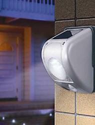 6PCS LED blanche PIR Motion Sensor Solar Light mur