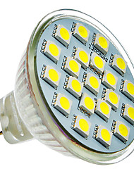 Spot Blanc Froid MR16 3 W 21 SMD 5050 165-180 LM 6000 K V