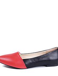 Maykee carneiro contraste cor lisa sapatos de salto