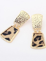 Fashion Alloy Leopard Print Earrings(More Colors)