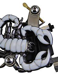 Tattoo Machine Scorpion Shape Gun For Shader&Liner(White)