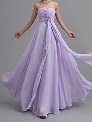 Yolan Bandeau Vestido de flores Decoración de noche largo elegante