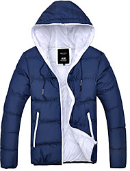 Men's Casual Cotrast Color Outwear