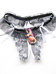 Women Patchwork G-strings & Thongs Panties / Ultra Sexy PantiesLace