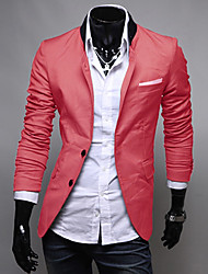 Men's Long Sleeve Blazer , Others Pure