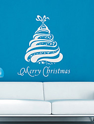 Case Screamy Albero di Natale adesivi murali