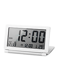 Classic Table Alarm Clock With Temperature Display