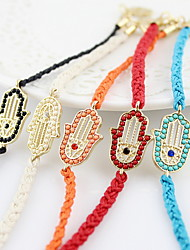 Fashion Rope With Rhinestone Women's Bracelet(More Colors)