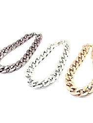 Golden / Black / Silver Chain Necklaces Alloy Daily / Casual Jewelry