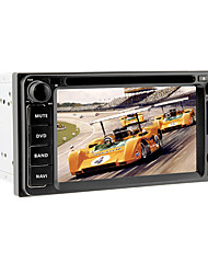 6.2inch 2 Din Universal Car DVD-Player für Toyota Vor 2006 mit 3G, WIFI, GPS, IPOD, RDS, BT, DVB-T, Touch Screen
