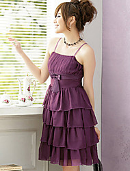 Women's Dresses , Chiffon Vintage/Cute/Party PINYOU