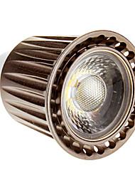 Spot Lampen GU10 5 W LM 6000 K 1 COB Kühles Weiß AC 220-240 V