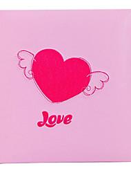 "Ricamo Pink Love Style Cuore 5 ""* 7"" Photo Album (160 Pocket)"