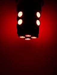 12 1210 SMD LED de voiture T10 168 194 W5W Side Wedge ampoule de lampe rouge