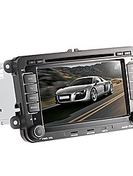 "7 ""2 DIN In-Dash-Auto-DVD-Player für volkswagen mit gps, bt, CAN-Bus, ipod, RDS, Stereo-Radio, Touchscreen"