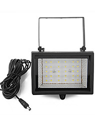 Solar Power Ultra Bright 30-LED Garten Flood Spot Light Lawn Cool White Lampe