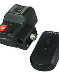 Wansen Wireless / Radio déclencheur flash avec support parapluie Avec 1 Récepteurs