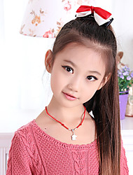 Stylish Straight Long Ponytail Children's Hair Extension(Brown)