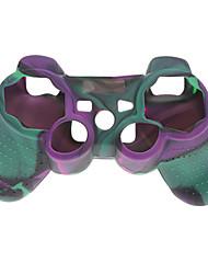 Funda protectora de silicona suave para el controlador de PS3