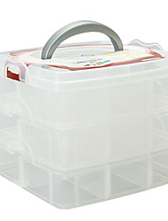 Maquillage Storage Case Holder Box Insert 3 niveau Cabinet