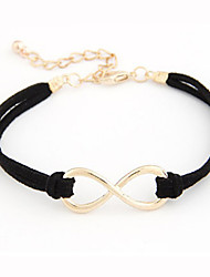 Fashion Leatherette With Alloy Number 8 Bracelet For Women(More Colors)