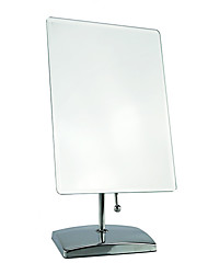 "13 ""H Stainless Stell Rectangle Métal table Mirror"