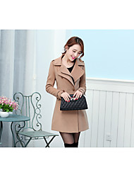 Women's Coats & Jackets , Others/Wool Casual/Work QCLR
