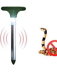 1PCS LED blanche solaires tueur de moustique lumière tueur de parasite feux en plein air