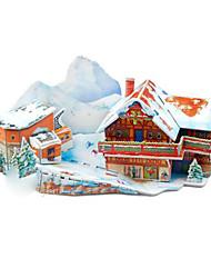 3D снег декорации Пазлы