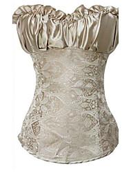 Women's Sexy Jacquard Weave Bandeau Corset