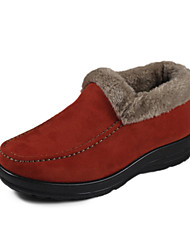 Suede Heel Appartamento Comfort fannulloni Shoes (più colori)