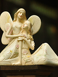 "8""European-style Angels Home Decorations Polyresin Collectibles"