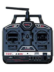 Top 4-Kanal RC Hobby Radio Transmitter (einschließlich der 6-Kanal-Receiver)