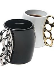 novo estilo criativo de cerâmica cor caneca copo punho enviados aleatoriamente